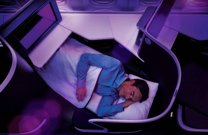 Virgin 777_Business Bed